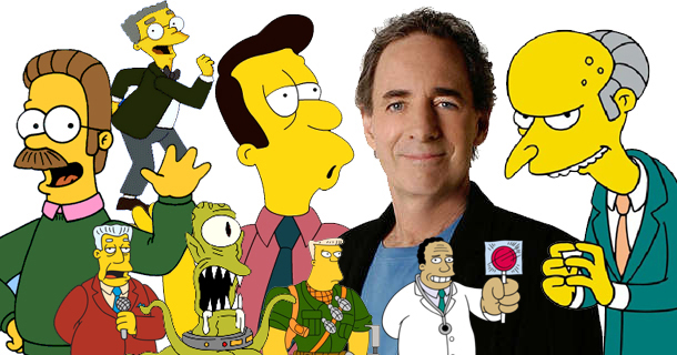 Harry Shearer Simpsons Voices